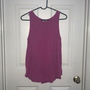 Women's pink old navy top